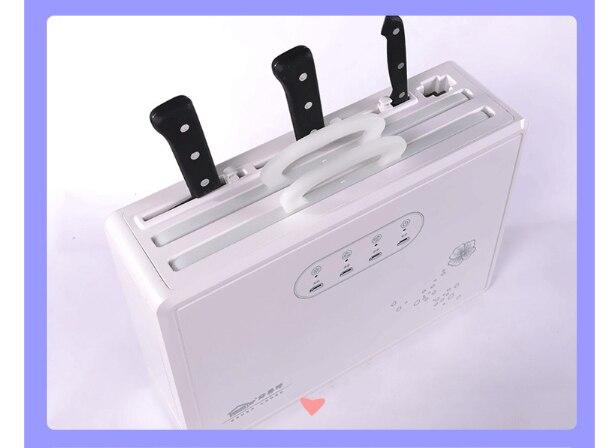 Knife  Sterilizer UV Ozone Sterilization Disinfection Disinfection Machine  Kitchen Storage Rack Warm Wind Drying