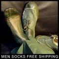 Verde de seda meias meias fetiche soldado Sexy clássico 1 par