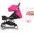 Cochecito de bebé Cochecito de Bebé Plegable Portátil de Viaje para 0-36 meses Niños Buggy Carrito Carro de coche de bebé