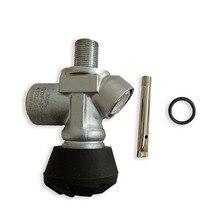 Diseño AC931, válvula de tiro utilizada para tanque HPA PCP, cilindro de Paintball con pistola de aire, rifle de aire, cilindro de fibra de carbono Acecare