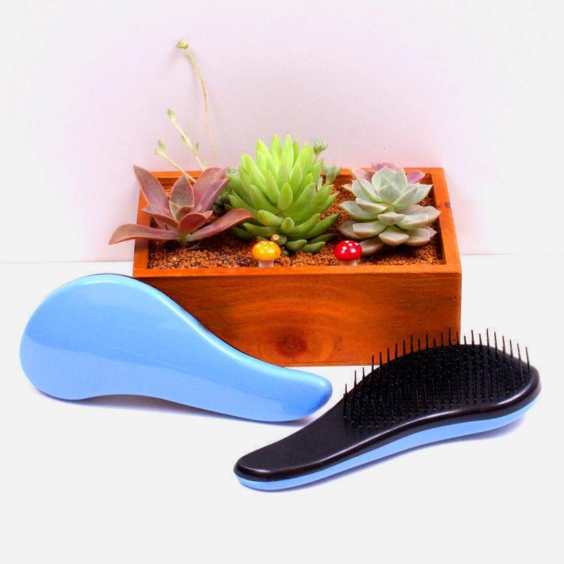 Magic Handle Tangle Detangling Comb Shower Hair Brush