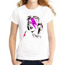 T Shirt Wholesale O-Neck 100% Cotton Short Sleeve Womens  Marilyn Monroe Tee