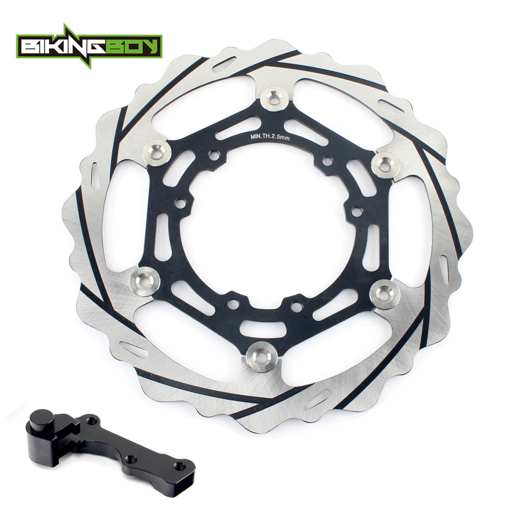 270mm oversize Front Brake Disc Rotor Bracket Adaptor for HONDA CR 125 R E CRF 250