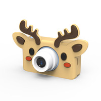 Toy Cameras 8MP cartoon camera HD Video Mini Camera Camcorder for kid baby Gifts 2.2 inch Digital Video Creative DIY 8GB memory