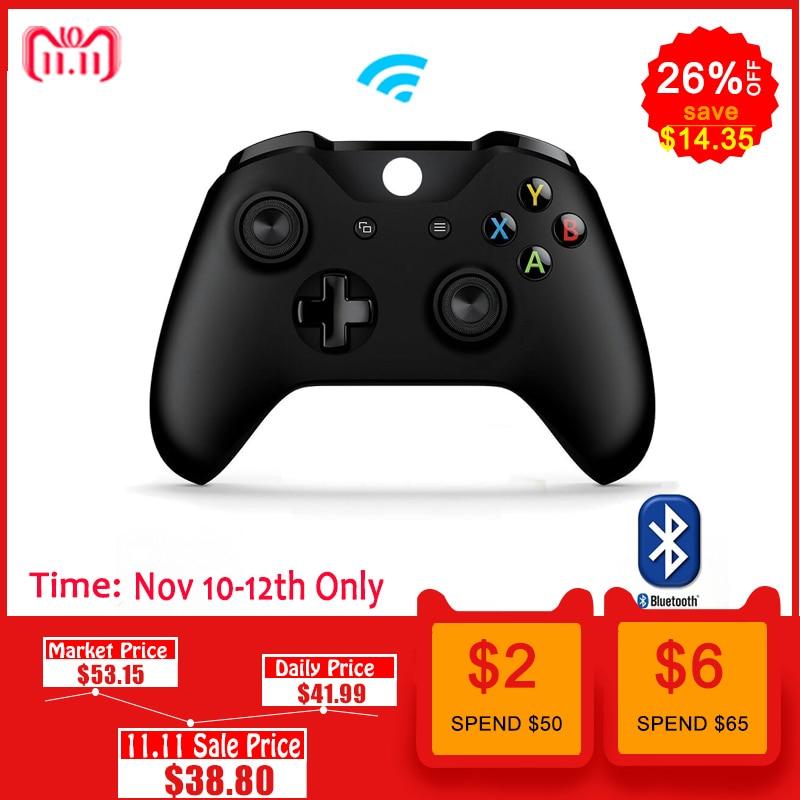 все цены на Wireless Controller Controle For Microsoft Xbox One S Bluetooth Gamepad For Xbox One Slim PC Joypad For Xbox one Joystick