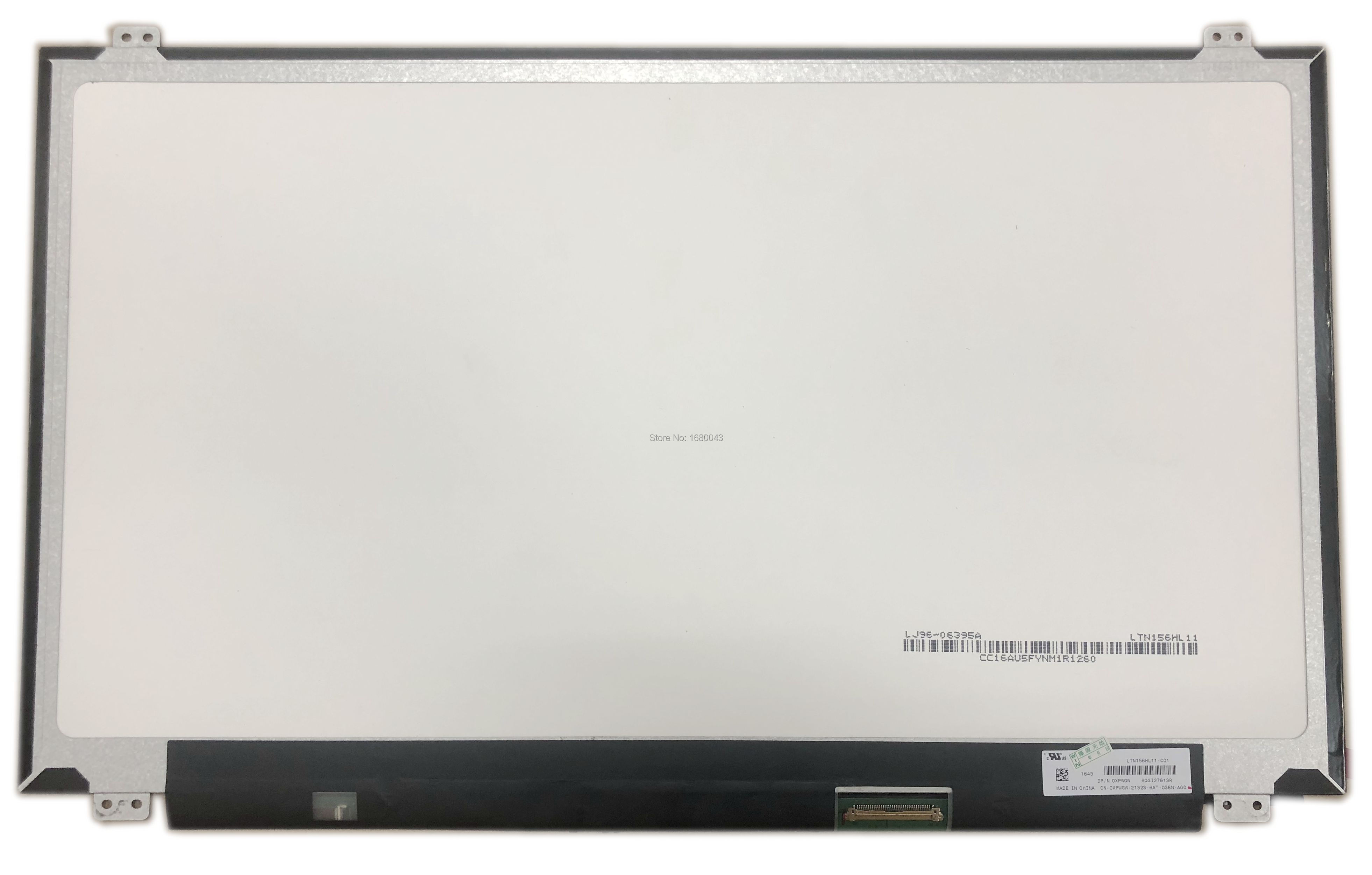 LTN156HL11-C01 LTN156HL11 15.6 IPS for DELL laptop LCD SCREEN eDP 40 pins 1920*1080 vga hdmi lcd edp controller board led diy kit for lp116wh6 spa1 lp116wh6 spa2 11 6 inch edp 30 pins 1lane 1366x768 wled ips tft