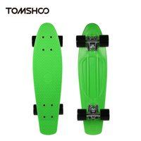 22In Mini Fish Skateboard Adult Children Cruiser Skateboard Skateboarding Street Banana Long Skate Board Four wheel