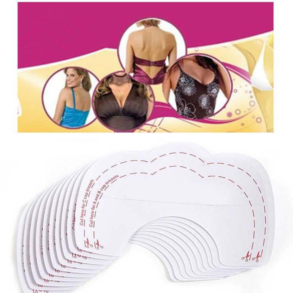 Excellent Women 6 Pair=12 Pcs Instant Breast Lift Support Invisible Bra Push Up Bra Stickers Paste Support Beauty Breast Sticker