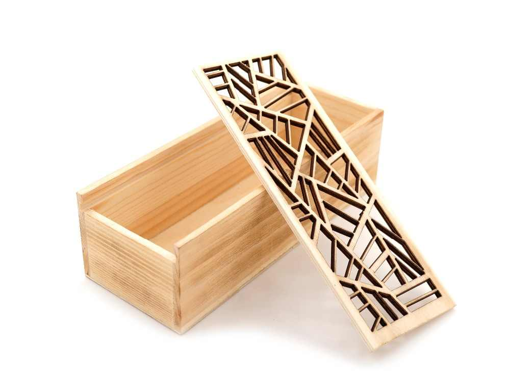 Caja de regalo BOBOBIRD de bambú de alta calidad, Set de almacenamiento de madera, diseño hueco creativo, caja de regalo de bambú natural con gafas, se acepta personalización 2017