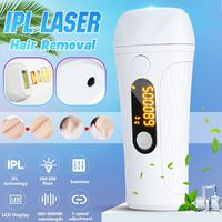 500000 Flash IPL Laser Hair Removal LCD Display Epilator Permanent Bikini Trimmer Painless Electric Depilador Home Use