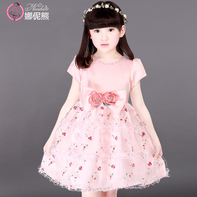 Big teenage girls summer dress pink princess flower girl dresses for big teenage girls summer dress pink princess flower girl dresses for party size 110 to 170 mightylinksfo