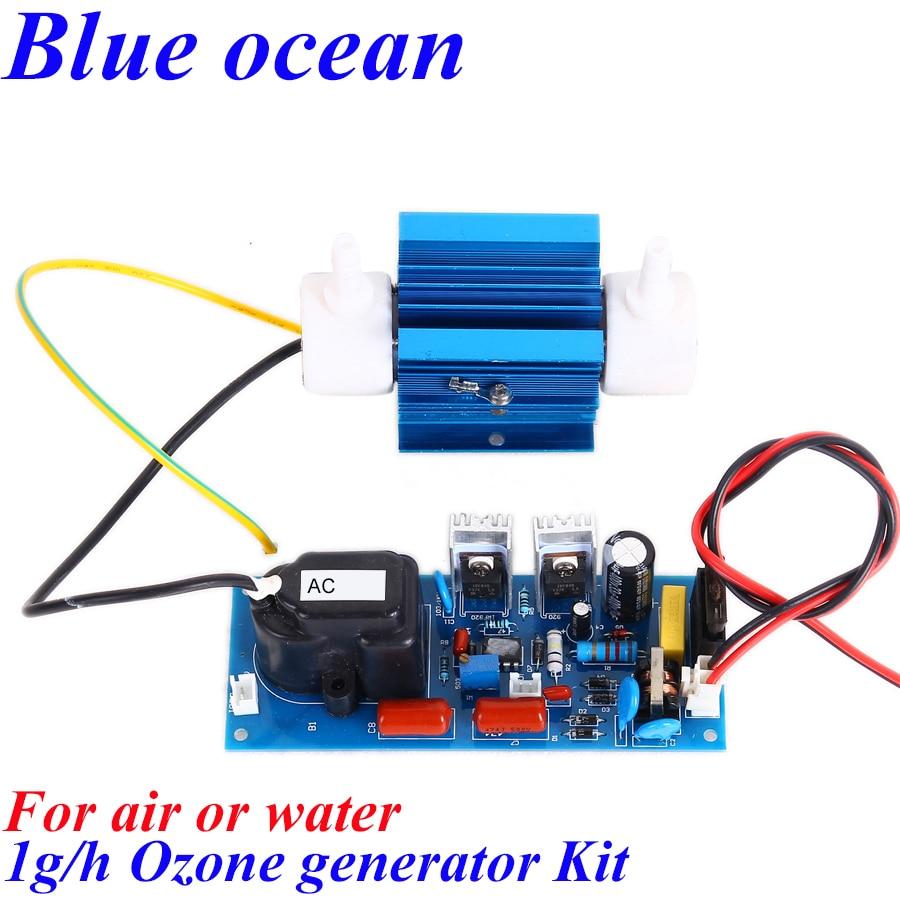 BO-2201QNAOS, FREE SHIPPING Wholesale Adjustable 1g/h ozone generator Aquarium aerator Drinking water sterilizer ozonizador