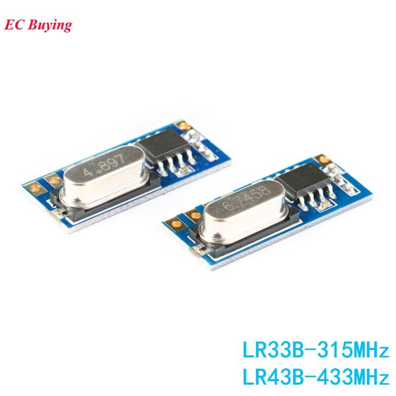 10Pcs Superheterodyne RXB12 DC3.3-5V Ask Rf Receiver Module 433Mhz Ttl oz