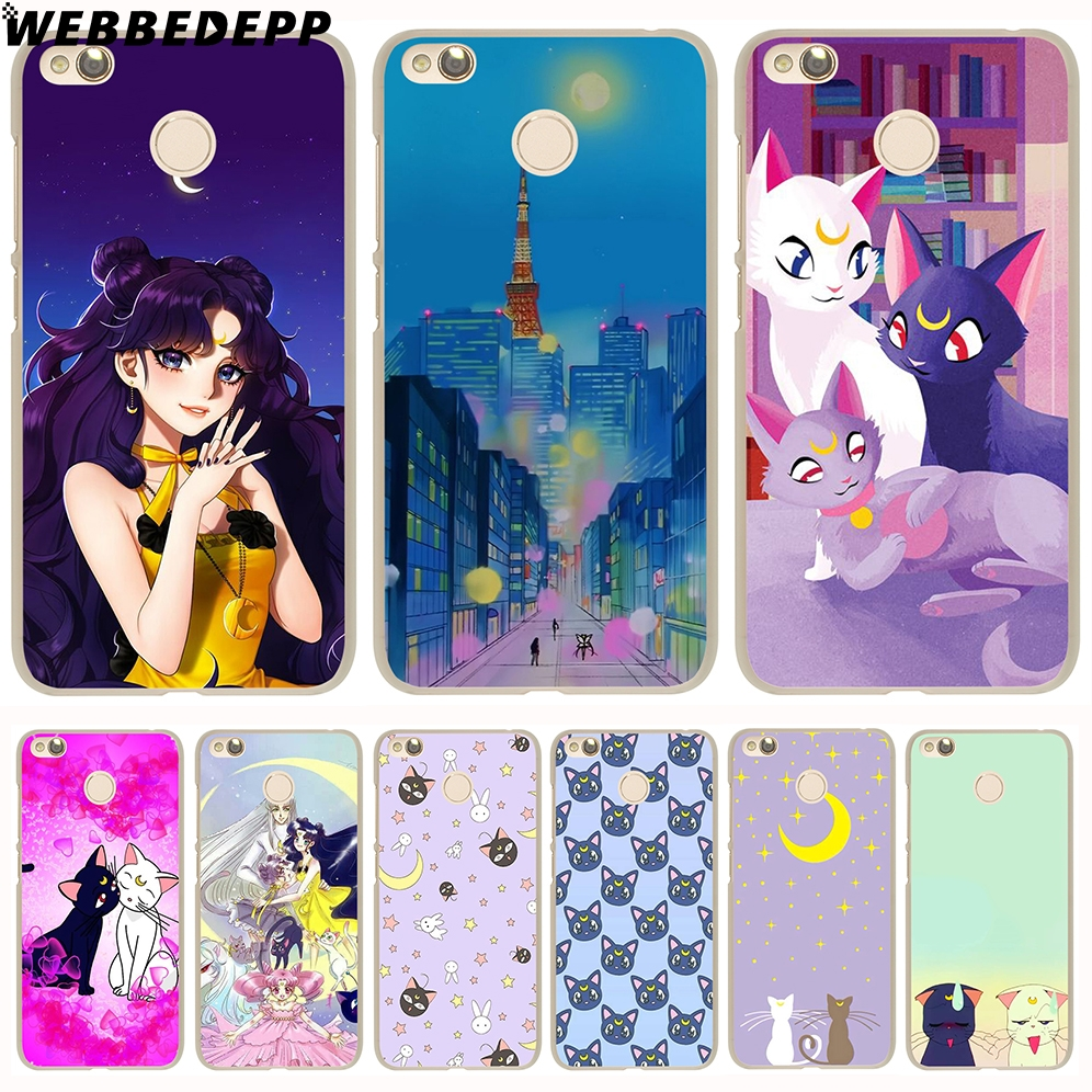 Half-wrapped Case Sincere Webbedepp Sailor Moon Luna And Arthemis Phone Case For Xiaomi Redmi 4x 4a 5a 5 Plus 6 Pro 6a S2 Note 5 6 7 Pro 4x Cover Customers First Cellphones & Telecommunications