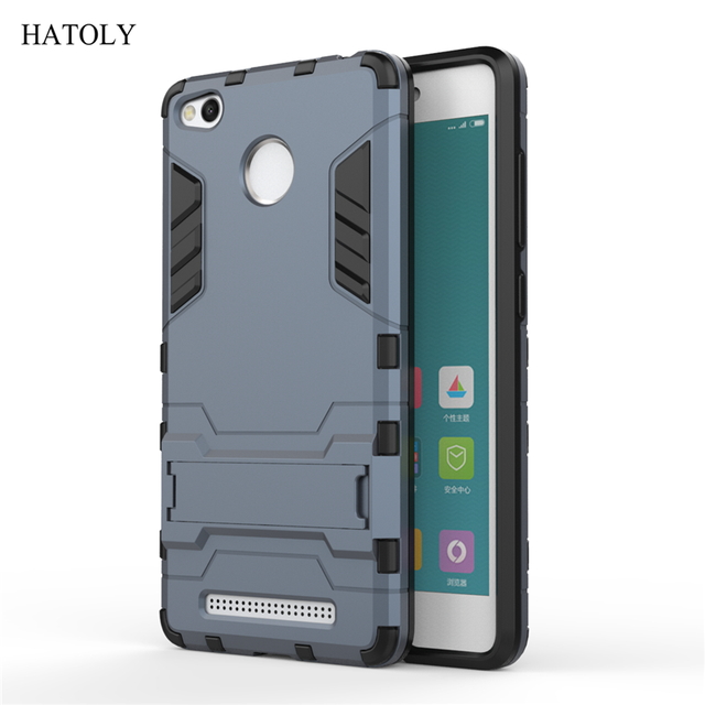best sneakers 11ad0 eca3b Cover Xiaomi Redmi 3 Pro Case Rubber Robot Armor Shell Hard Back Phone Case  for Xiaomi Redmi 3 Pro Cover for Xiaomi Redmi 3s-in Fitted Cases from ...