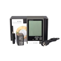 Bside Bthai01 temperature + humidity Data Logger With Large Display And Sound Light alarm