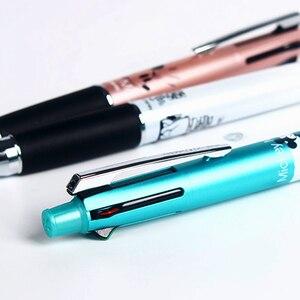 Image 4 - 1個限定日本三菱ユニSN 101マルチカラーペン多機能カラーペン4色のボールペン + 鉛筆