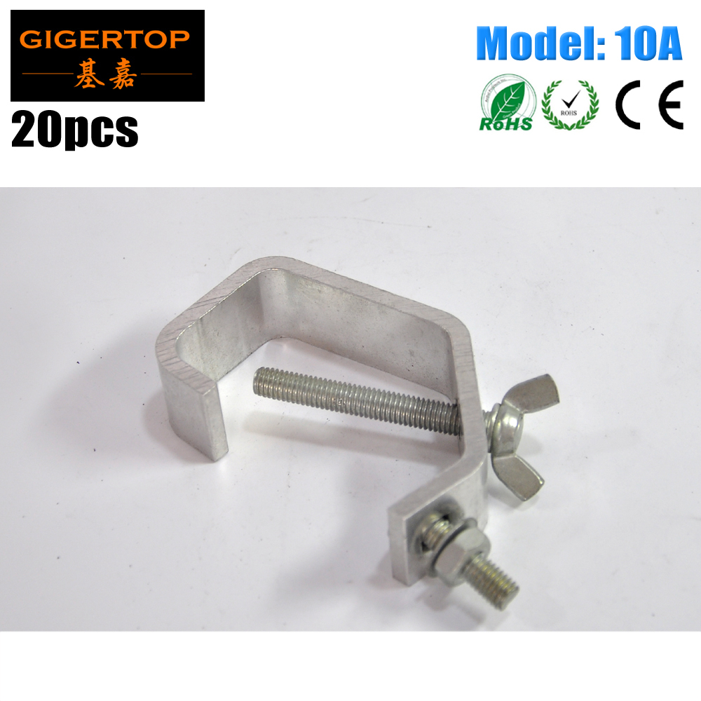 20 Pack 10A 30-45mm Truss Pipe New G-Clamp Stage Lighting G CLAMP Black Light Effects Clamps G clamp Mini Size Cheap Price