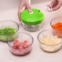 1pc Multifunctional Hand Food Processor Fruit Vegetable Meat Chopper Mincer Crusher Salad Tools Kitchen Food Chopper
