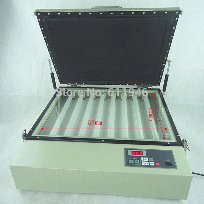 Machine d'exposition de cadre de vide de 500*400mm, Machine d'exposition d'écran en soie, Machine d'exposition d'impression d'écran 15 w * 8 pièces