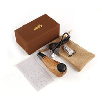 100% Original Kamry Turbo K Mini E Pipe Turbo K 30W 0.5ohm Wooden E Pipe Mod Vapor E Cigarette epipe VS K1000 Plus vapor Hookah