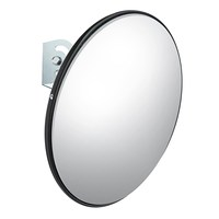 NEW 45 cm Wide Angle Curved Convex Security Road Mirror For Indoor Burglar Traffic Signal Roadway Safety