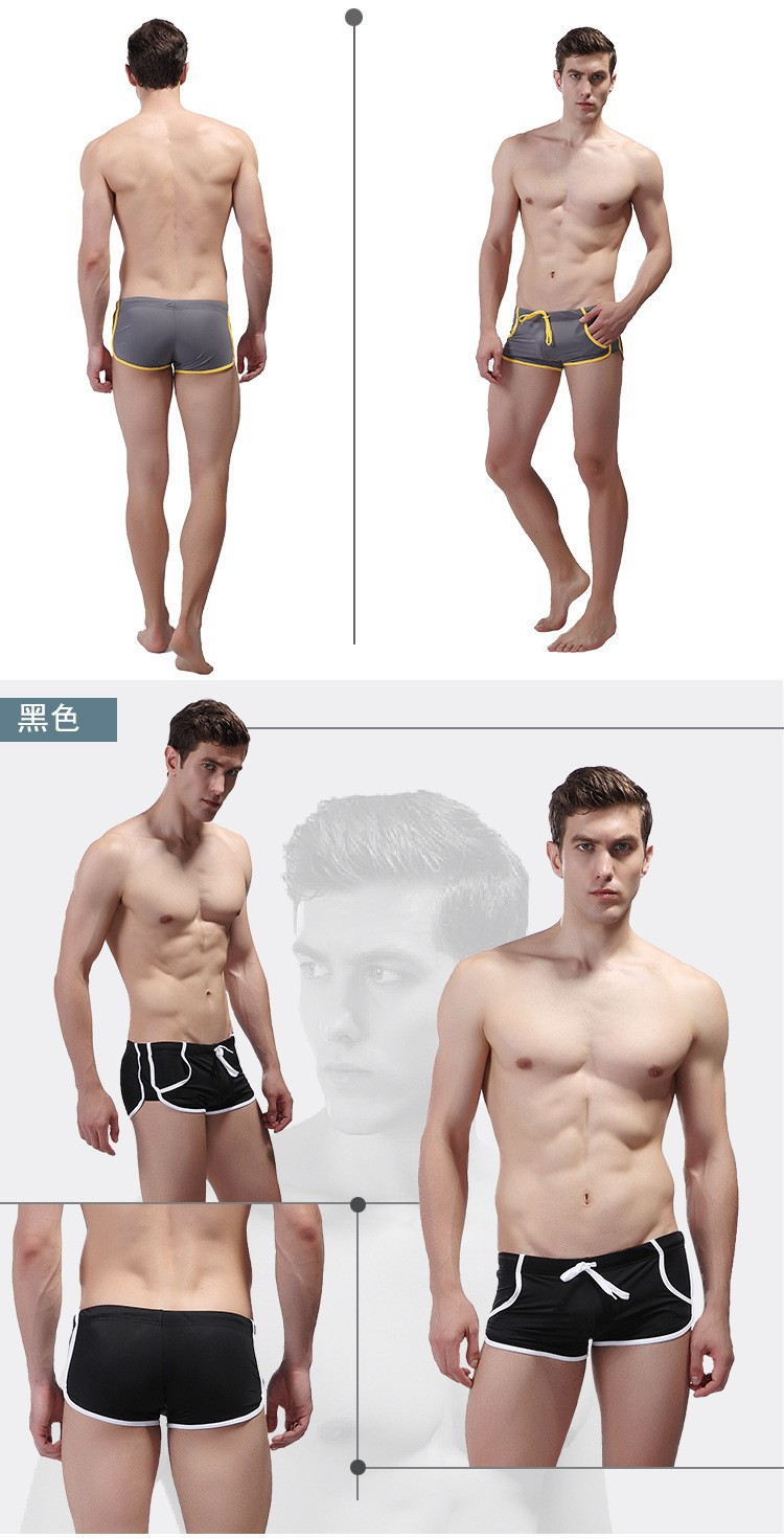 Сексуальное нижнее белье бикини мужские трусы нейлоновые трусы-боксеры пляжная одежда для мужчин доска пляжный купальный костюм Мужская ванна бассейн Одежда карман YK13