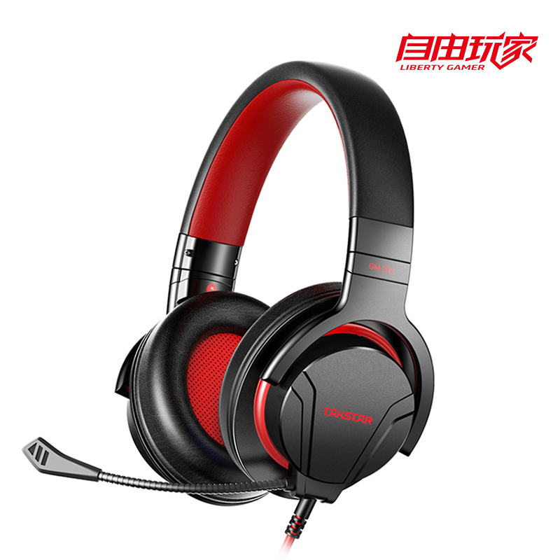 Takstar GM200 Professional Gaming Headset With Detachable Microphone High Performance And Comfortable Wearing