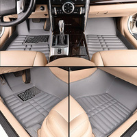 Car floor mats for yaris, car mat black beige gray brown