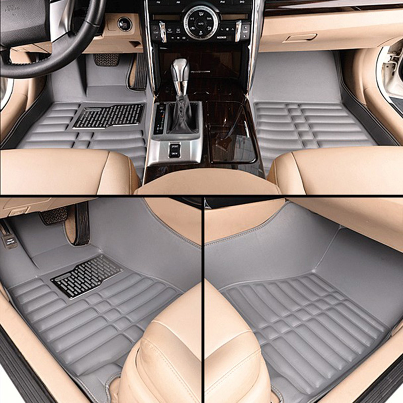 Car floor mats for yaris, car mat black beige gray brown car floor mats for camry car mat black beige coffee gray brown