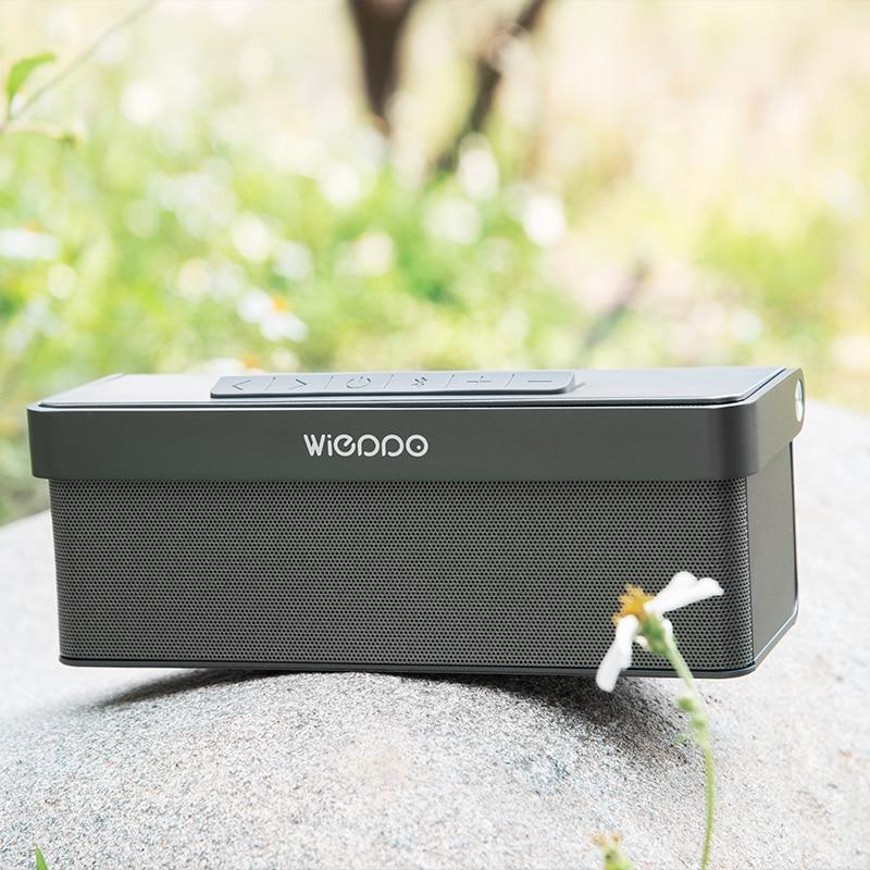WIEPPO high quality mini wireless metal XQ-702 Bluetooth speaker sound system 3D portable speaker support TF card FM radio