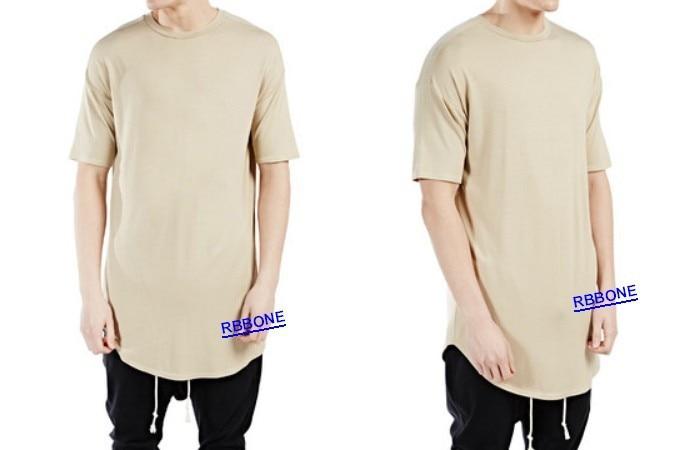 Long Back Zipper Streetwear Swag Man Hiphop t shirt t shirt extra oversize  Tee Men t shirt tyga cool oversized hip hop extended on Aliexpress.com  c85f36ec8c9