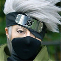 Mcoser 35cm Short Silver White Cosplay NARUTO-Hatake Kakashi Synthetich Hair Wigs Cheap