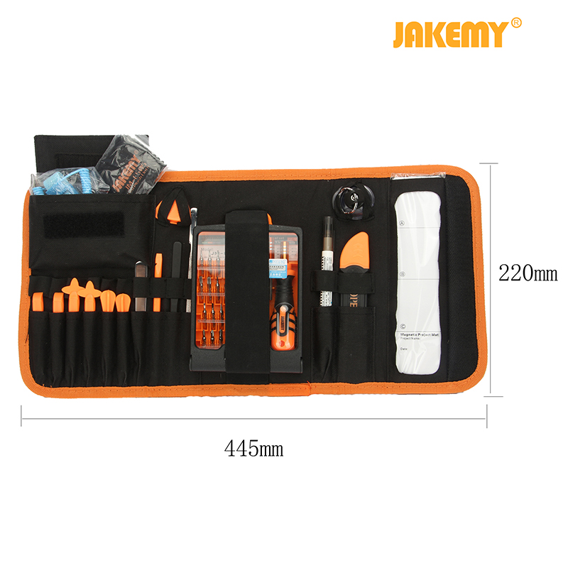JAKEMY Jm-8101 Upddated Multifunctional Precision Screwdriver Set Laptop Electronic Repair phone Tool For Iphone 7 Hand Tool
