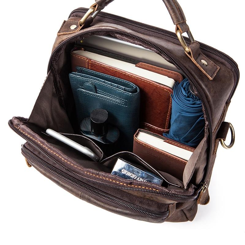 509b1c9b6a WESTAL Genuine Leather Men s Bags Male Crossbody Bags Small Flap Casual  Messenger Bag Men s Shoulder Bag genuine leather 8951 on Aliexpress.com