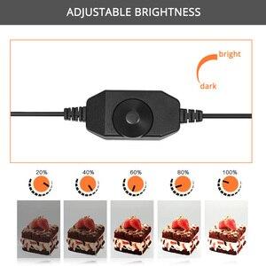 Image 4 - Spash caja de luz portátil para estudio fotográfico caja de luz para foto de 60 cm con fondo de 3 colores, tienda de mesa para fotografía, caja de luz para sesión de fotos