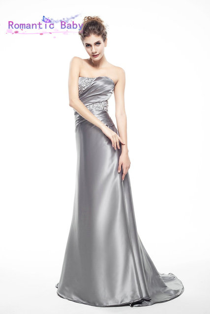 Big Sale Send Fast Delivery Floor Length Mermaid Evening Dress Cheap ...