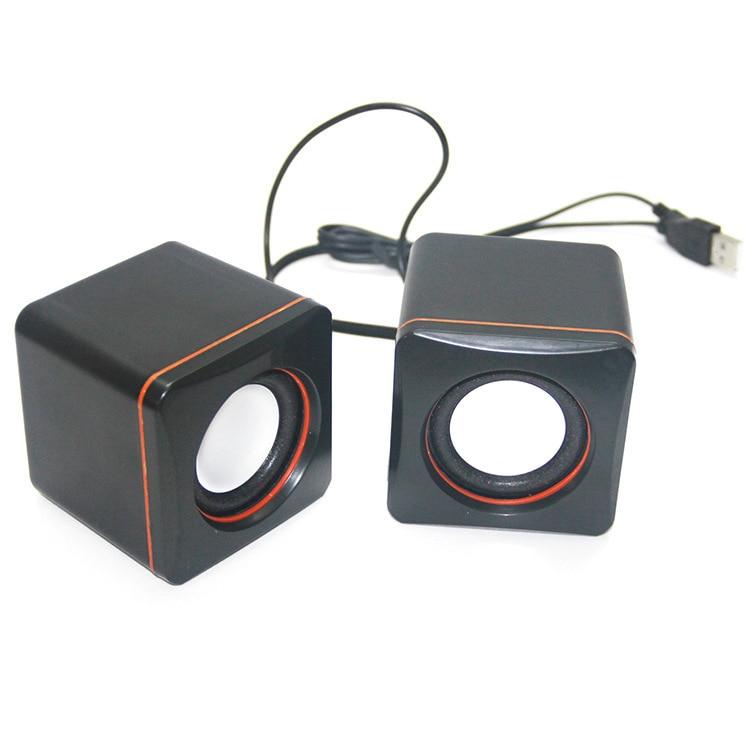 100% QualitäT Mini Computer Subwoofer Notebook Desktop-computer Verdrahtete Usb Kleine Box Lautsprecher Geschenk Kleine Sound