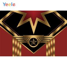 Yeele Captain Superhero America Birthday Party Baby Personalized Photographic Backdrops Photography Backgrounds For Photo Studio