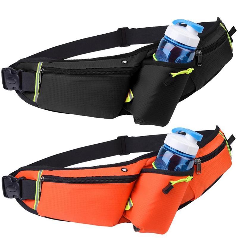 Running Bags Men Women Waist Bag Casual Waist Pack Sport Fanny Pack Waterproof Running Bags Purse Mobile Phone Case