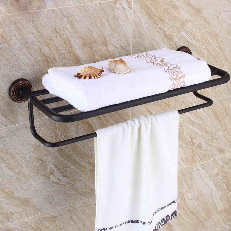 Black matt finish heated towel rack bathroom towel in - Heated towel racks for bathrooms ...