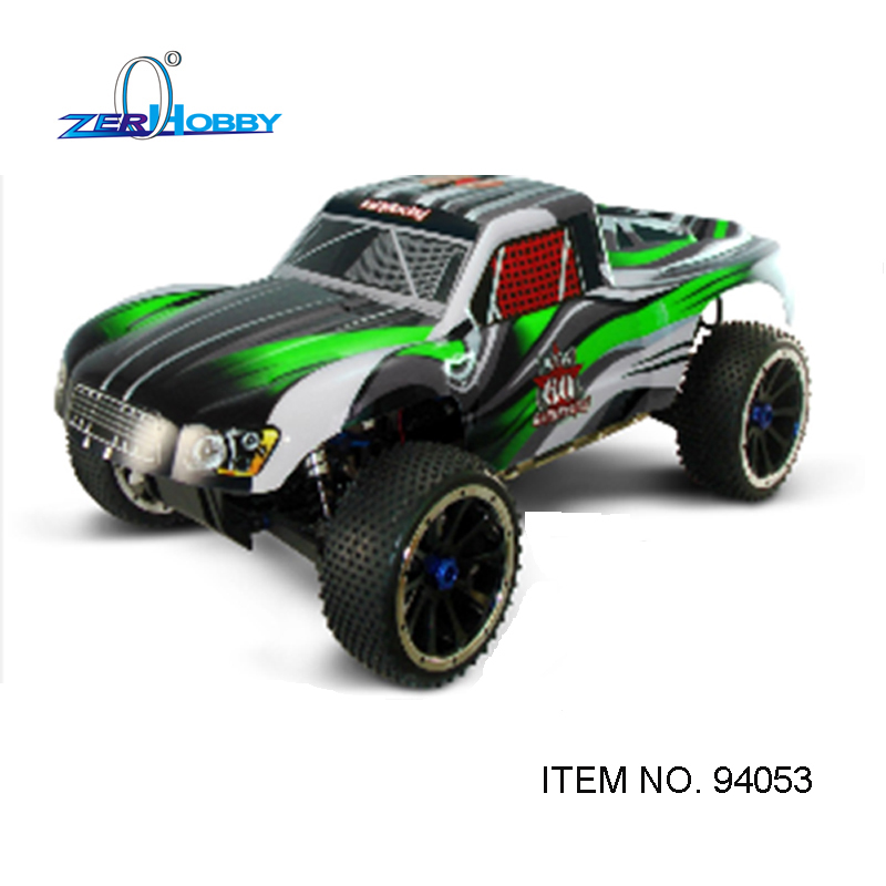 RC CAR HSP 1/5 gas powered short course truck 4wd off road 30cc engine (item no. 94053)