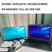 EXTEND /DUPLICATE /SECOND NOTEBOOK SCREEN wideview DualDisplay LED BOARD kit IPS 1080P HDMI LCD MATRIX Module DESTOP Monitor DIY