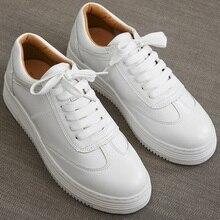Fashion White Shoes Women Sneakers Platform Causal Shoes Lac
