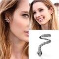 2017 single hole earrings jewelry wholesale women APM snake left ear single Earring