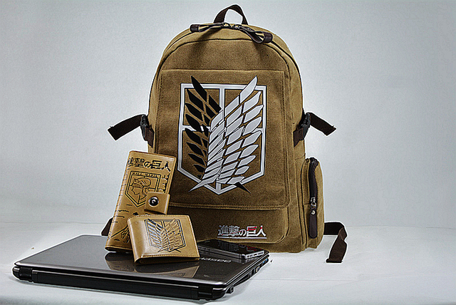 """Wings of Liberty"" Attack On Titan Backpack Series I"