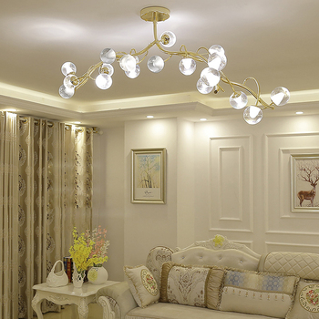 LED postmodern nórdico de hierro acrílico minimalismo LED lámpara ...