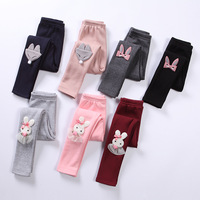 Spring Autumn Kids Leggings For Girls 2018 New Fashion Baby Girls Cotton Cartoon Princess Trousers 4