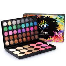 Professional Eyeshadow Palette Makeup Maquiagem Beauty Palette Original Colors Make Up Eye Shadow 55 Colors new brand 9 color pigmento eye shadow palette professional shimmer matte eyeshadow make up palette maquiagem