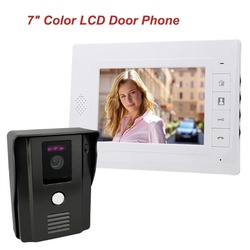 7 color video door phone video intercom door intercom doorphone ir night vision camera doorbell kit.jpg 250x250